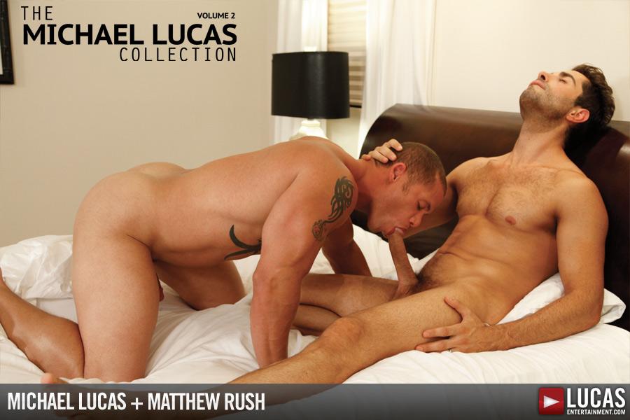 Michael Lucas Bangs Matthew Rush