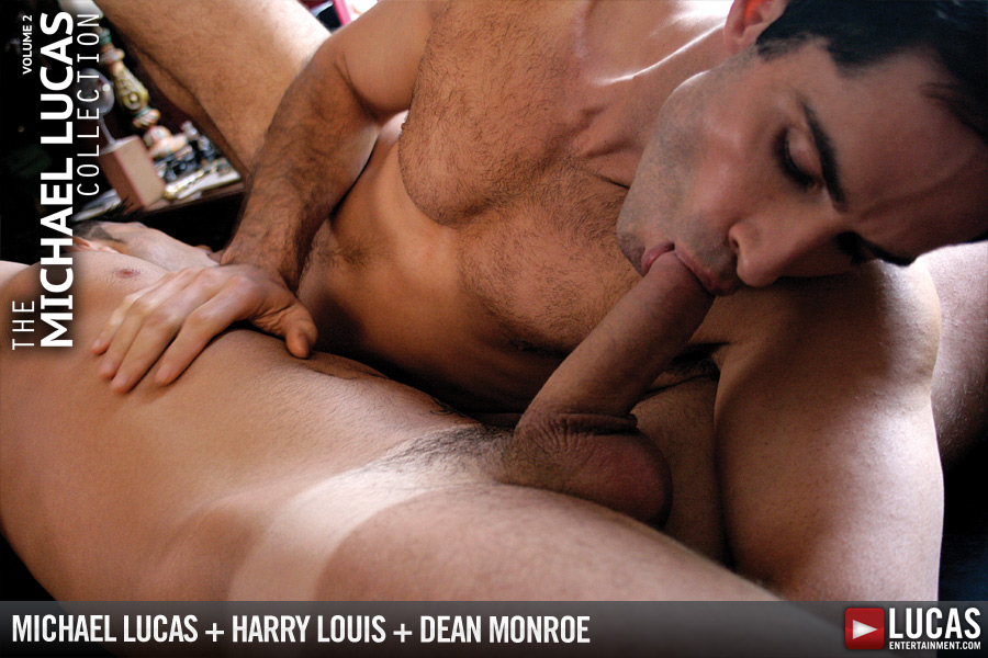 Michael Lucas Fucks Harry Louis and Dean Monroe - Gay Movies - Lucas Entertainment