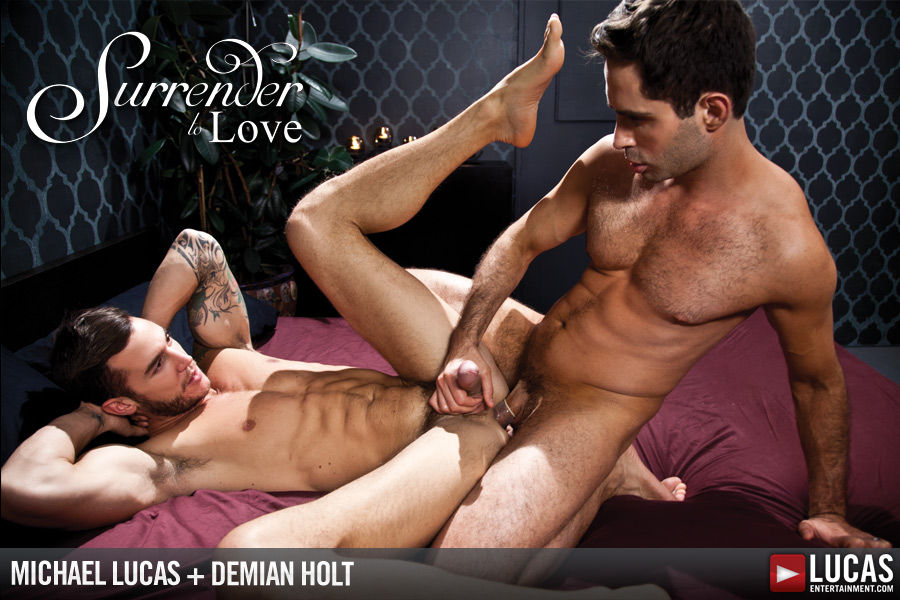 Michael Lucas Romances and Seduces Demian Holt