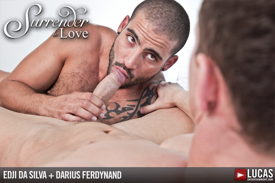Darius Ferdynand Surrenders to Lucas Exclusive Edji Da Silva - Gay Movies - Lucas Entertainment