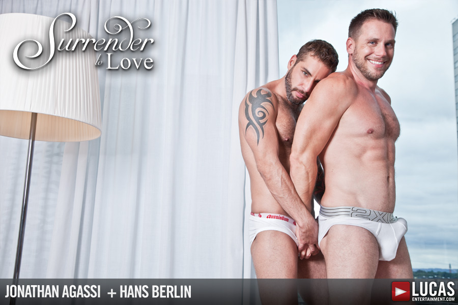 Lucas Exclusives Jonathan Agassi and Hans Berlin Make Love - Gay Movies - Lucas Entertainment