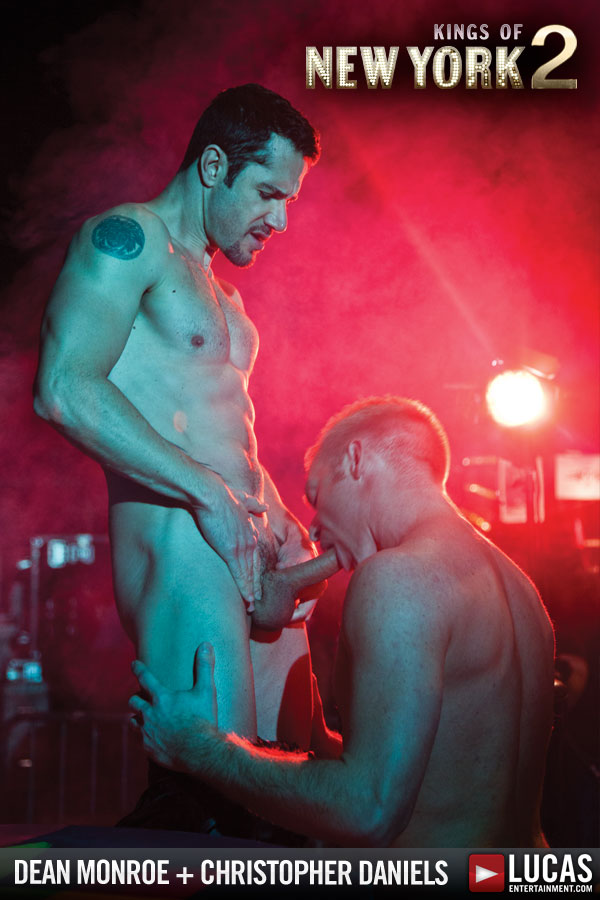 Fire, Snakes, and a Live Sex Show Starring Chris Daniels and Dean Monroe - Gay Movies - Lucas Entertainment