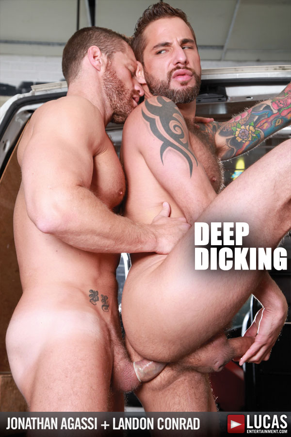 Exclusive Jonathan Agassi Takes a Ride on Landon Conrad