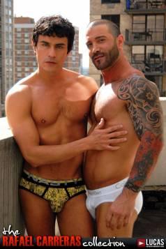 Rafael Carreras and Junior Stellano Have a Secret Manhattan Affair - Gay Movies - Lucas Entertainment