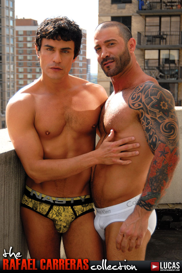 Rafael Carreras and Junior Stellano Have a Secret Manhattan Affair - Gay Movies - Lucas Entertainment