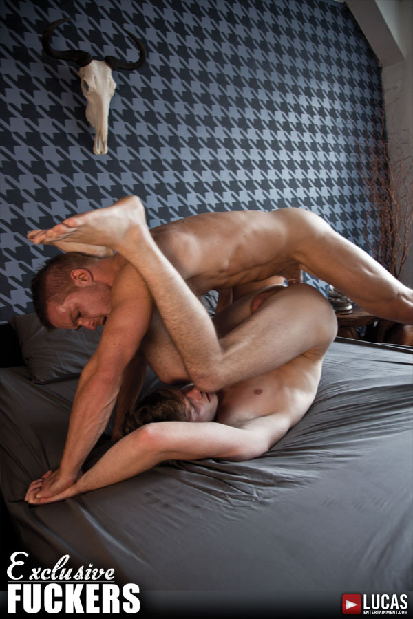 Liam Magnuson Gets a Workout Pumping Joey Banks