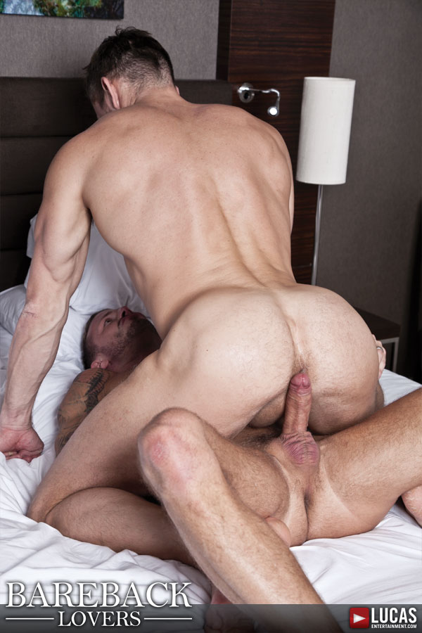 Deep Bareback Fucking Featuring Tomas Brand and Logan Rogue - Gay Movies - Lucas Entertainment