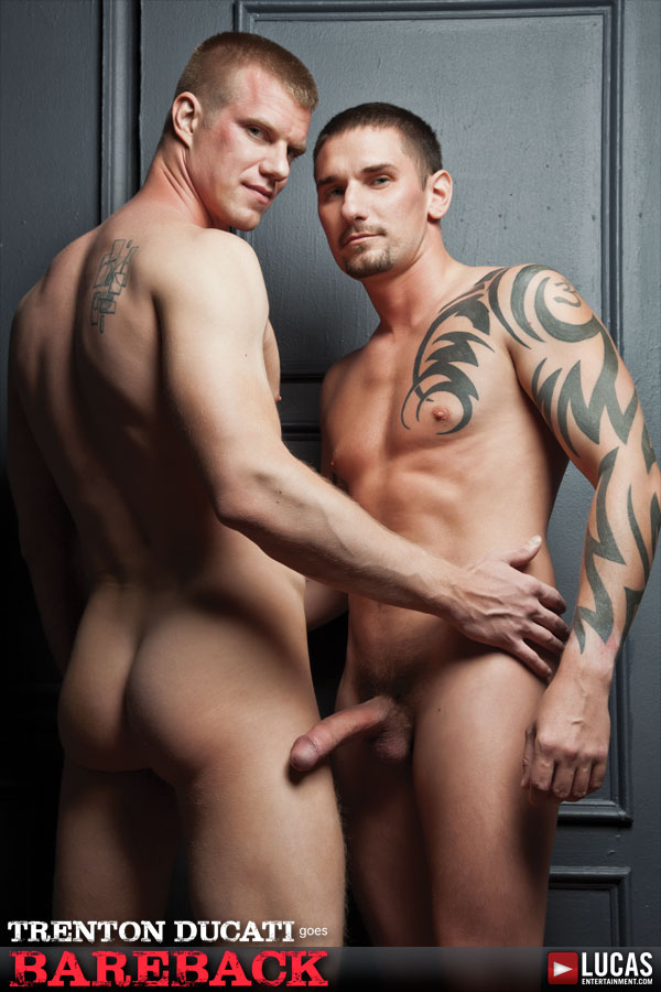 Hot Rod Stuffs His Black Bareback Dick Inside Jed Athens