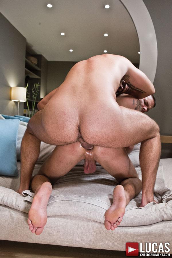 Edji Da Silva Teaches His Intern Fabio Lopez How to Bottom - Gay Movies - Lucas Entertainment