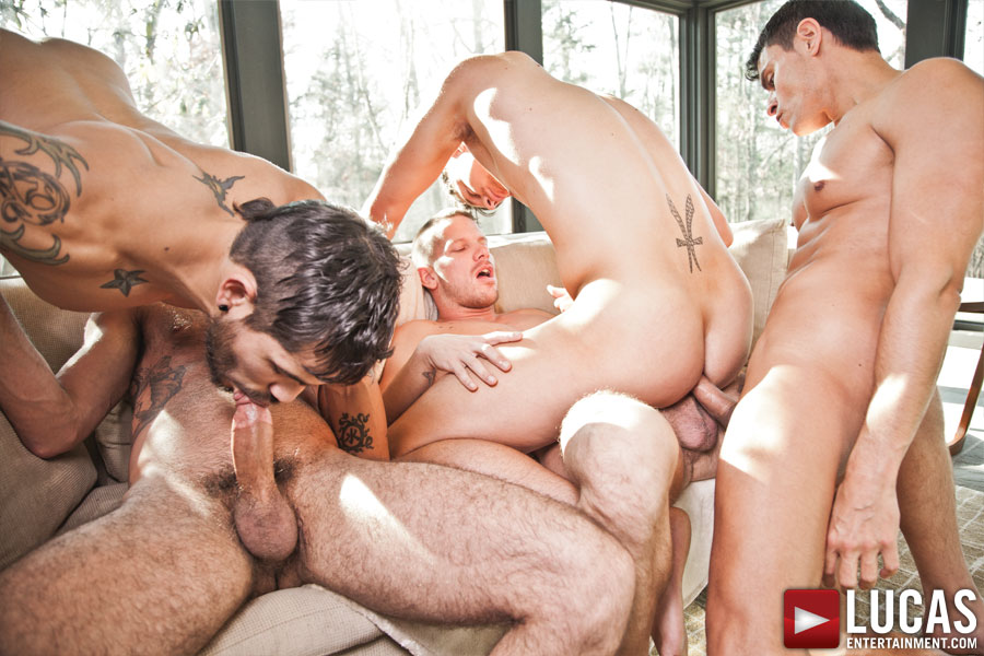 Bareback Sex Fest - Gay Movies - Lucas Entertainment