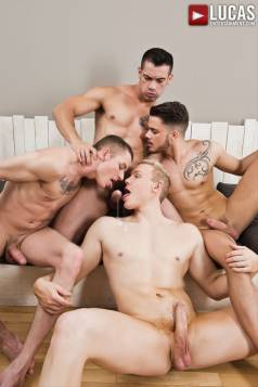 Fabio Lopez Fucks Around Three Different Ways - Gay Movies - Lucas Entertainment