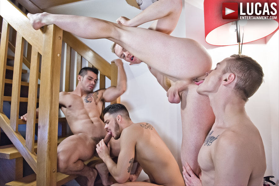Jonathan Agassi Goes Raw - Gay Movies - Lucas Entertainment