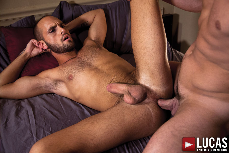 Nova Rubio and Austin Chandler Fuck Bareback by Candlelight - Gay Movies - Lucas Entertainment