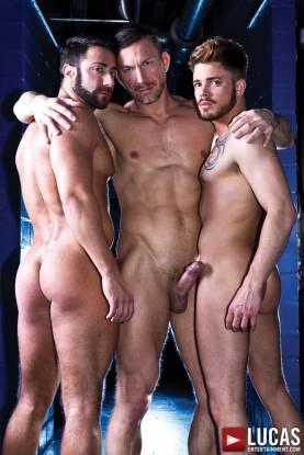 Tomas Brand and Valentino Medici Seduce Fabio Lopez - Gay Movies - Lucas Entertainment