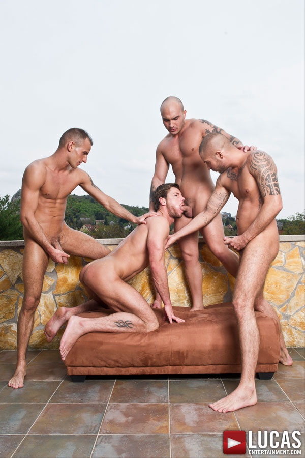 Toby Dutch: Barebacking in Budapest - Gay Movies - Lucas Entertainment