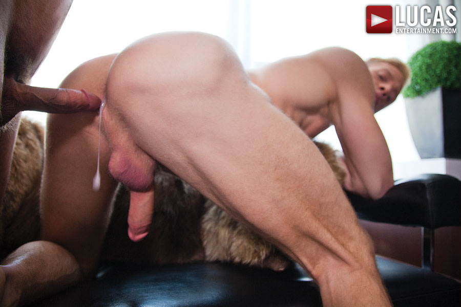 Cute gay sex movie riding hard cock in the 5