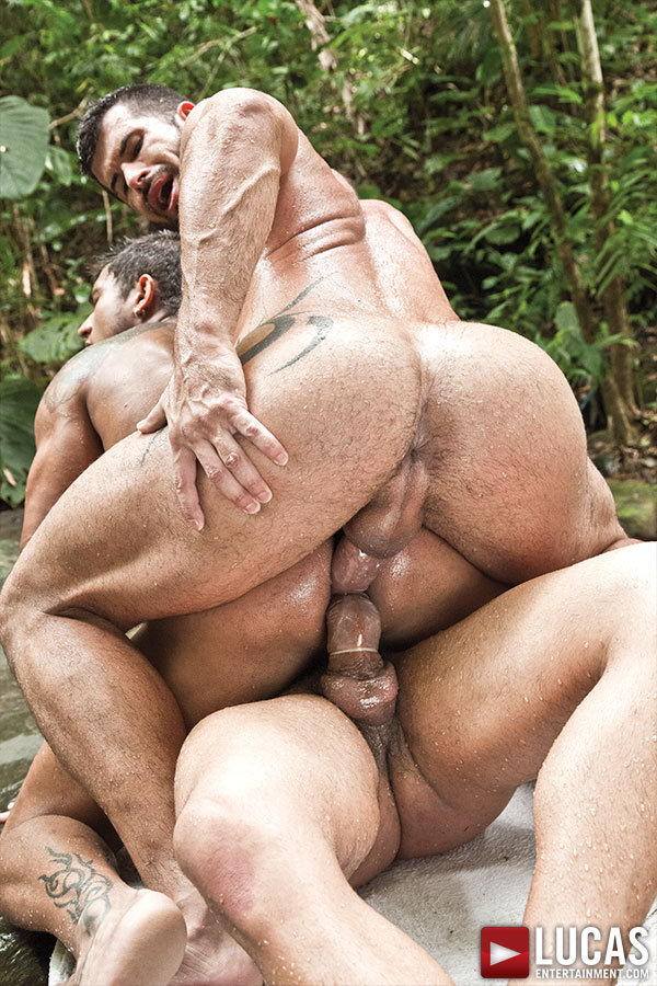 Adam Killian's Threesome With Diego Lauzen And Wagner Vittoria - Gay Movies - Lucas Entertainment