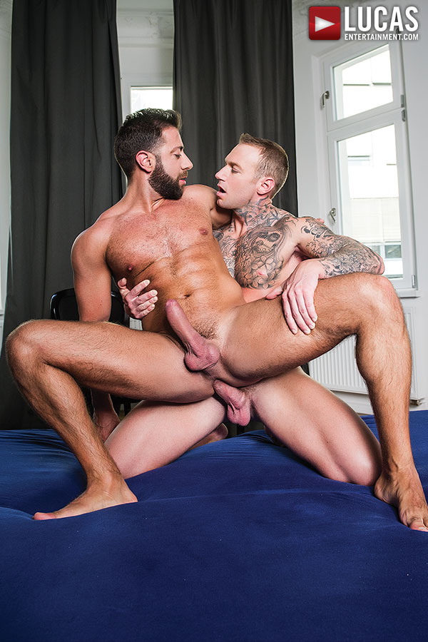 Dylan James And Valentino Medici | Alpha-Male Flip Fucking - Gay Movies - Lucas Entertainment