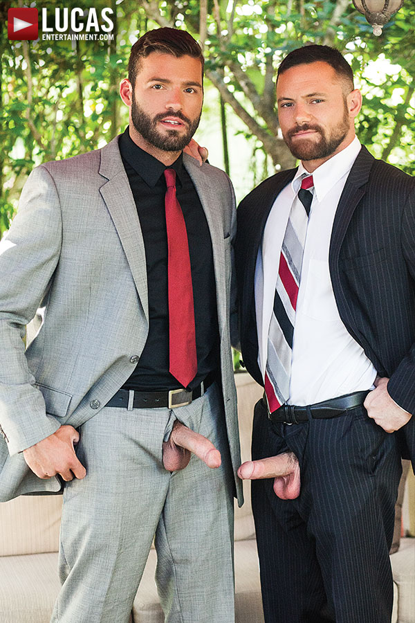 Xavier Jacobs And Sergeant Miles | Scruff In Suits - Gay Movies - Lucas Entertainment