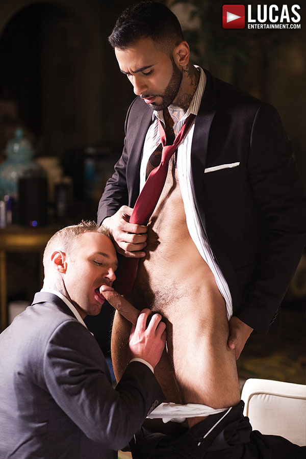 Rikk York Takes A Bareback Butt Fucking From Dylan James - Gay Movies - Lucas Entertainment