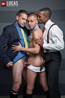 Sean Xavier, Hans Berlin, and Colden Armstrong - Gay Movies - Lucas Entertainment