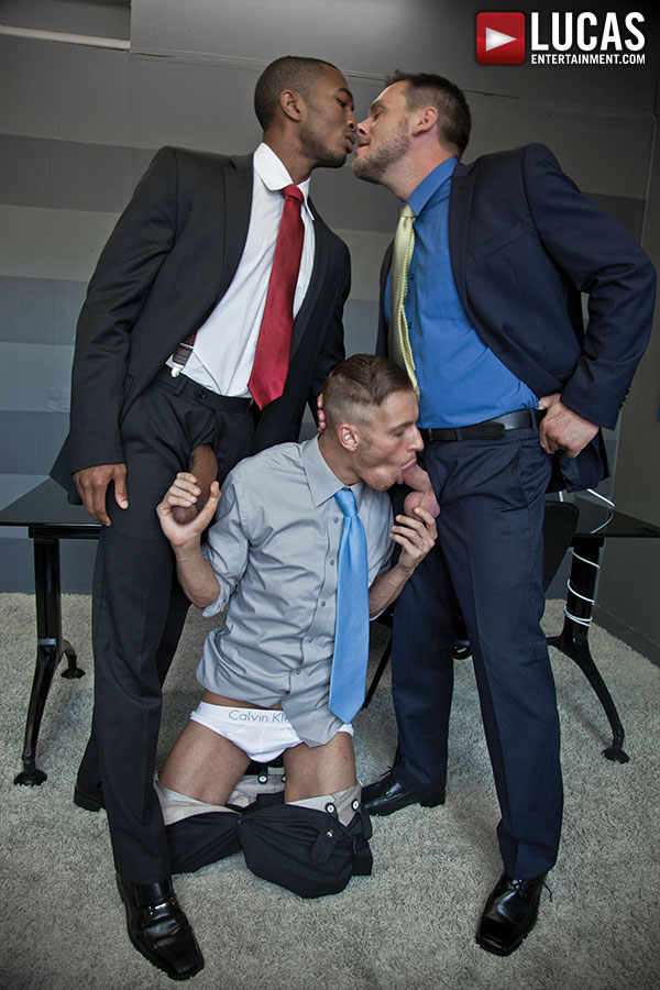 Sean Xavier, Hans Berlin, and Colden Armstrong - Gay Movies - Lucas Entertainment