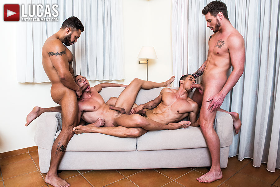 Fully Loaded: Raw Double Penetrations 03 - Gay Movies - Lucas Entertainment