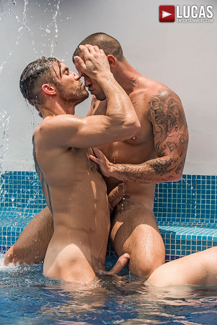 Damien Crosse, James Castle, And Devin Franco Star In A Five-Man Orgy - Gay Movies - Lucas Entertainment