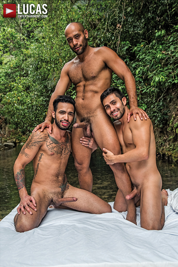 Leo Forte, Derek Allan, And Raymer's Uncut Threesome - Gay Movies - Lucas Entertainment