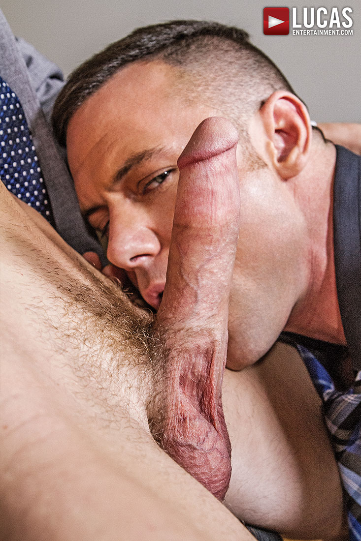 Emerson Palmer Gives Up His Ass To Sergeant Miles - Gay Movies - Lucas Entertainment