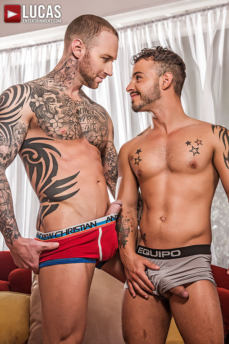 Dylan James Dominates Rafael Lords' Ass - Gay Movies - Lucas Entertainment