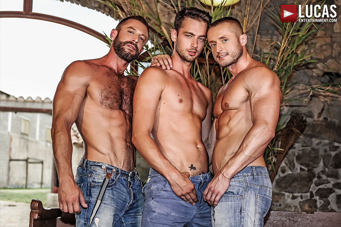 Damon Heart and Dennis Sokolov Take Turns Servicing Bulrog - Gay Movies - Lucas Entertainment