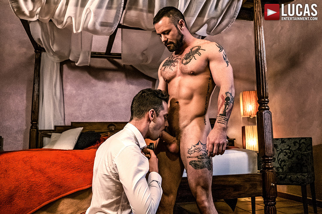 Sergeant Miles And Damon Heart Flip-Fuck Raw - Gay Movies - Lucas Entertainment