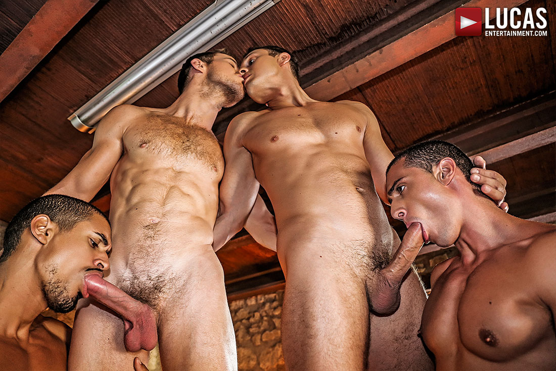 Raw Double Penetrations 04: Stuffed - Gay Movies - Lucas Entertainment