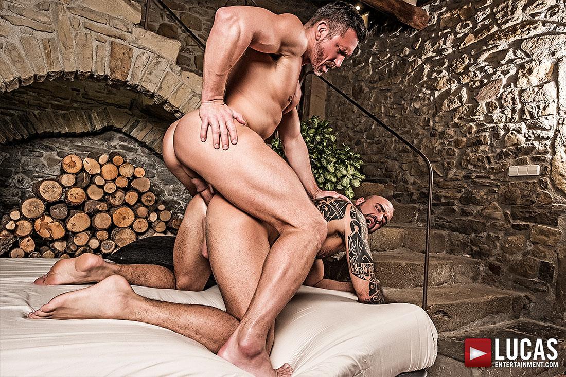 Tomas Brand Breeds His Real-Life Boyfriend Angelo Di Luca - Gay Movies - Lucas Entertainment