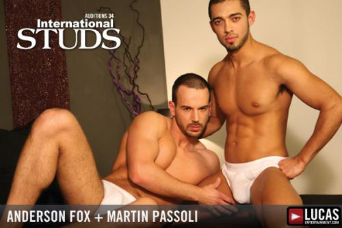 Auditions 34: International Studs - Gay Movies - Lucas Entertainment