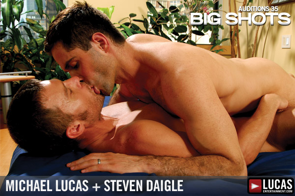 Auditions 35: Big Shots - Gay Movies - Lucas Entertainment