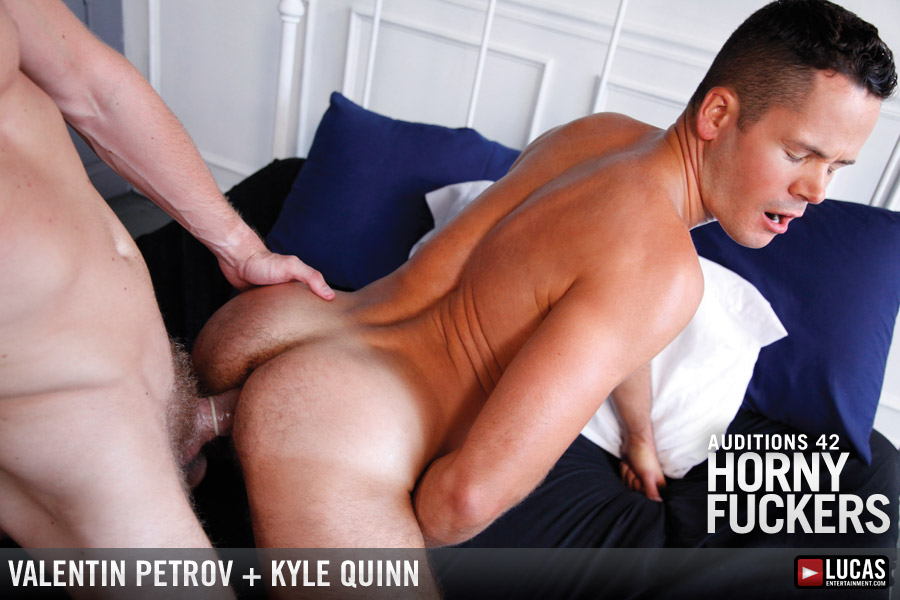 Auditions 42: Horny Fuckers - Gay Movies - Lucas Entertainment