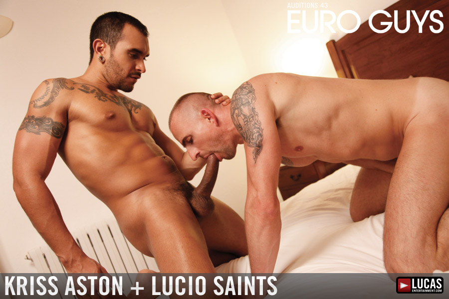 Latin Hunk Lucio Saints Pounds Kriss Aston