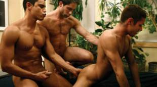 Rafael Carreras, Giovanni Summers, and Michael Lucas