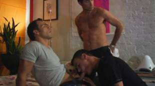 Derrick Hanson, Jason Ridge, and Michael Lucas