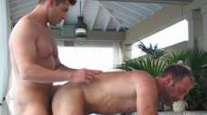 Bruce Beckham and Parker Williams Fuck Poolside