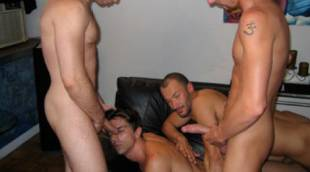 Erik Grant, Wilfried Knight, Michael Lucas, and J.