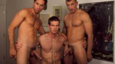 Michael Lucas, Jett Allen, and Johnny Morelli