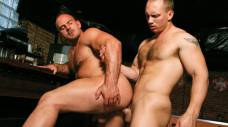 Hairy Hunks John Magnum and Samuel Colt Flip-Fuck