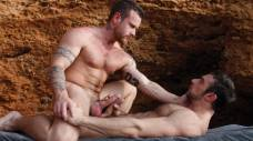 Passionate Ben Brown and Scott Carter Have Sex by the Waves