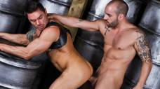 Jason Vault and Johnny Venture Fuck in a Dungeon