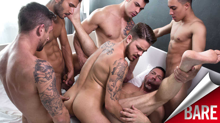 Tomas Brand Bottoms for Fabio Lopez in His Second Bareback Sex Party