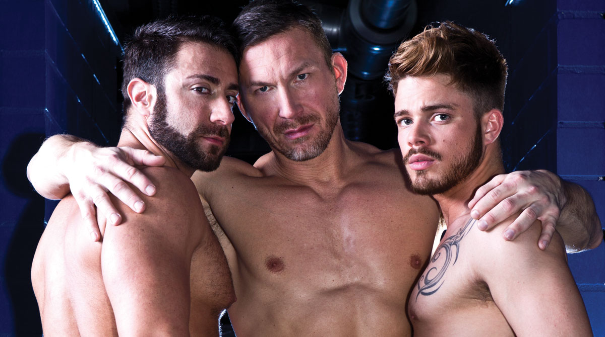 Tomas Brands Leads A Threesome With Valentino Medici And Fabio Lopez