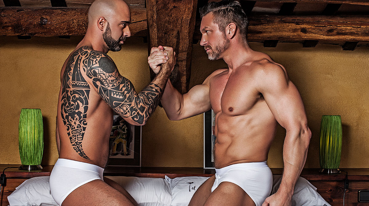Tomas Brand Breeds His Real-Life Boyfriend Angelo Di Luca